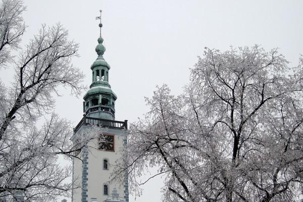 chełmiński rynek, wieża ratuszowa