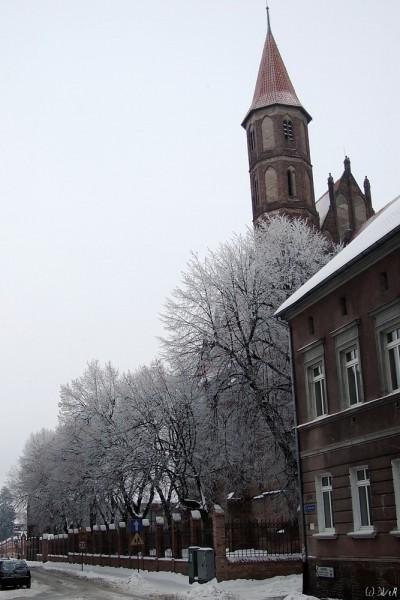 sygnaturka kościoła gimnazjalnego